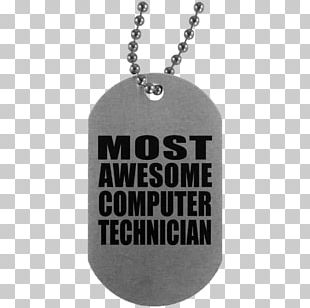 Dog Tag United States Army Military Necklace Ball Chain PNG