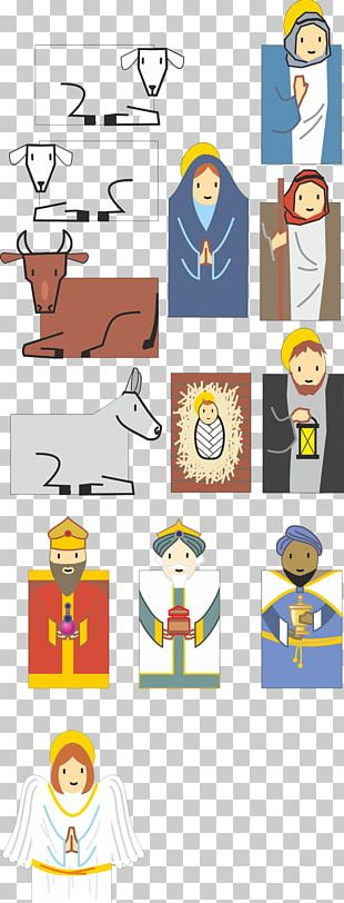 Advent Calendars Nativity Scene Christmas PNG