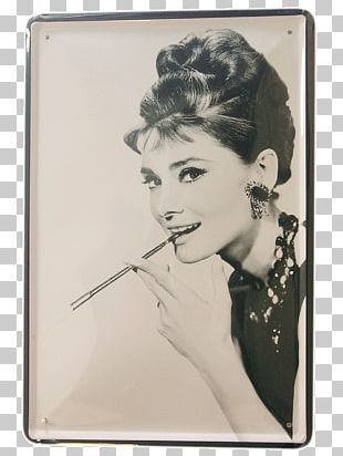Black Givenchy Dress Of Audrey Hepburn Breakfast At Tiffany's Funny Face PNG