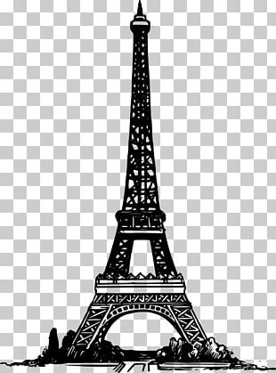 Eiffel Tower Book Desktop PNG