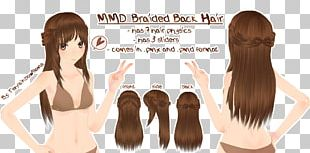 Long Hair Hairstyle Hair Coloring Brown Hair PNG