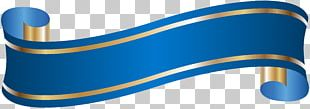 Banner Blue PNG