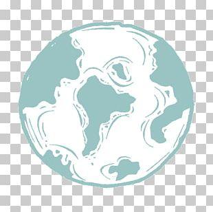 Logo Animal Circle Turquoise Font PNG