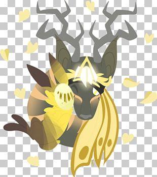 Reindeer Giraffe Mammal Horse Illustration PNG