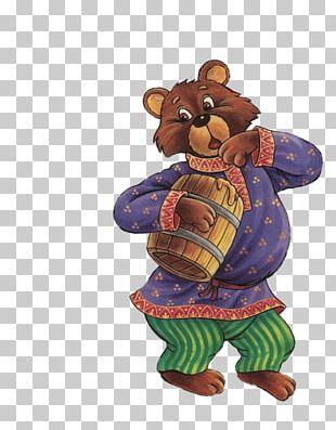 Goldilocks And The Three Bears Kolobok Gray Wolf Russian Folk-tales PNG