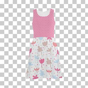 Polka Dot Dress Sleeve Nightwear Dance PNG