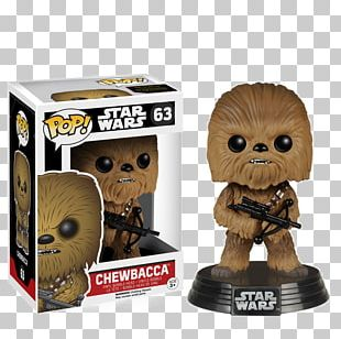 Chewbacca Star Wars Episode VII R2-D2 Funko Action & Toy Figures PNG