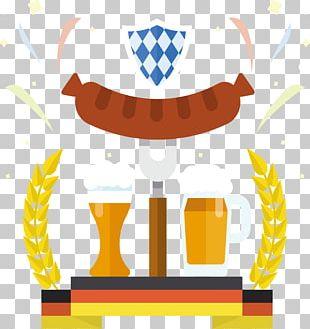 Oktoberfest Germany Beer German Cuisine Illustration PNG