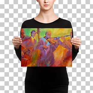 Canvas Print Watercolor Painting Printing PNG