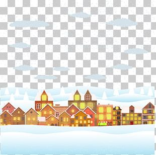 Christmas Poster Illustration PNG