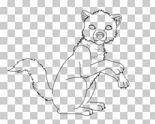 Whiskers Tasmanian Devil Line Art Sketch PNG
