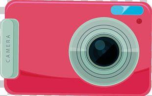 Digital Camera Pink Photography PNG