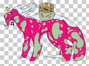 Giraffe Horse Illustration Mammal PNG