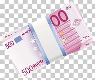 Paper Euro Banknotes 500 Euro Note PNG