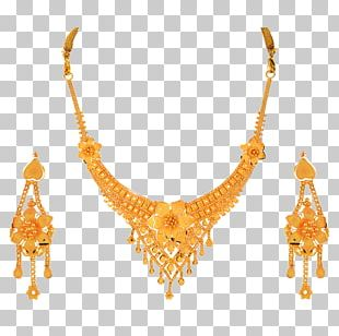 Earring Jewellery Necklace Jewelry Design Gold PNG