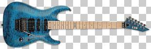 Seven-string Guitar ESP Eclipse ESP Guitars ESP LTD MH-103 Electric Guitar PNG