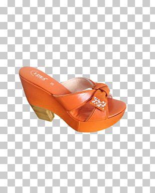 Clog Wedge Sandal Court Shoe PNG