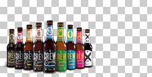 CREW Republic Craft Beer India Pale Ale Alcoholic Drink PNG
