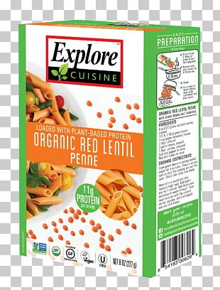 Pasta Organic Food Lentil Spaghetti Gluten-free Diet PNG
