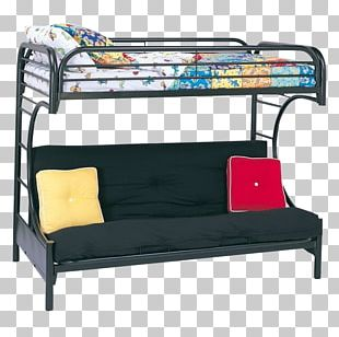 Bunk Bed Futon Furniture Bed Size PNG