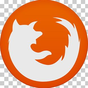 Orange Smile Circle PNG