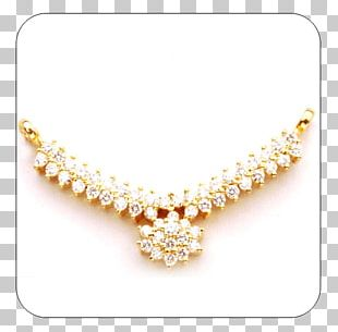 Pearl Body Jewellery Necklace PNG