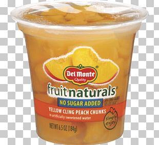 Vegetarian Cuisine Fruit Cup Orange Drink Juice Del Monte Foods PNG