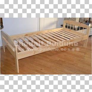 Bed Frame Mattress Hardwood Wood Stain Lumber PNG