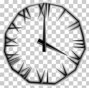 Clock Time Bilderuhr Digital Data PNG