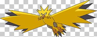 Pokémon FireRed And LeafGreen Pokémon GO Pokémon Red And Blue Zapdos PNG