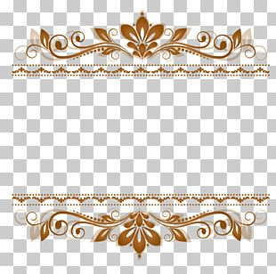 Lace Motif Ornament Pattern PNG