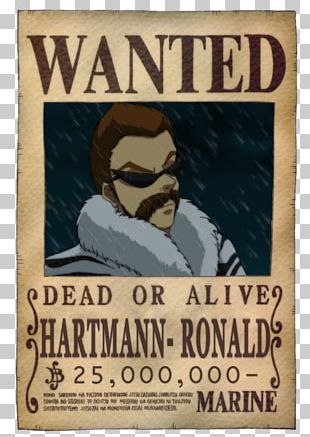 Usopp Nico Robin Monkey D. Luffy One Piece Wanted Poster PNG