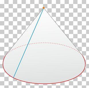 Directrix Cone Generatrix Triangle Plane PNG
