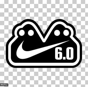 Nike Skateboarding Logo Sticker PNG
