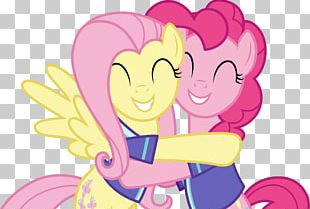 Pinkie Pie Fluttershy Rainbow Dash Twilight Sparkle Applejack PNG