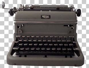 Royal Typewriter Company Office Supplies Typing Writing PNG