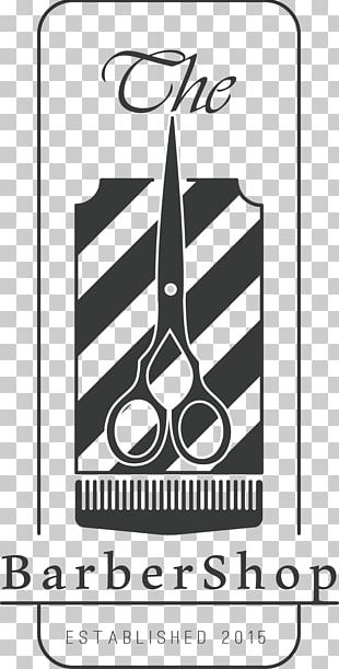 Barbers Pole Logo Hairstyle PNG