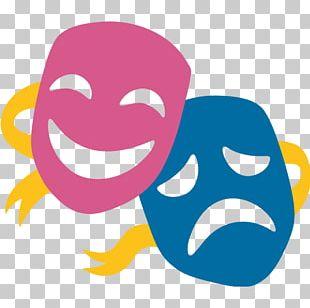 Emoji Musical Theatre Mask Drama PNG