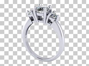 Silver Wedding Ring Body Jewellery Platinum PNG