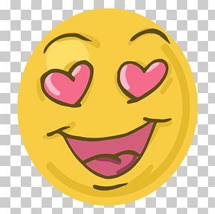 Emoticon Smiley Heart Emoji PNG