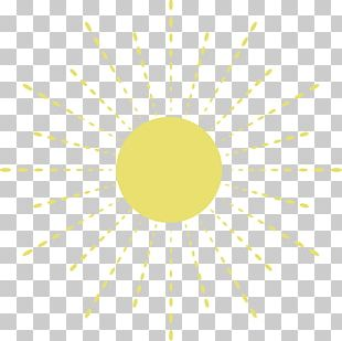 Hand Painted Sun PNG
