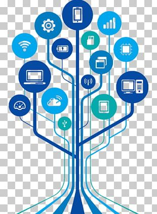 Information And Communications Technology Wall Decal Graphics Technology Tree PNG