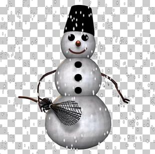 Snowman Button PNG