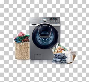 Washing Machines Clothes Dryer Lavadora Samsung Samsung 8kg Smart Washing Machine Samsung AddWash WF15K6500 PNG