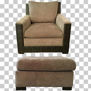 Club Chair Foot Rests Couch Armrest PNG