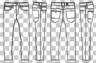 Jeans Shoe Trousers PNG