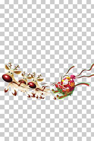 Santa Claus's Reindeer Santa Claus's Reindeer Christmas Desktop PNG