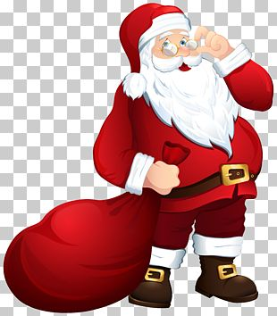 Santa Claus Mrs. Claus Christmas PNG