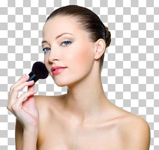 Cosmetics Model Make-up Artist Makeup Brush Woman PNG