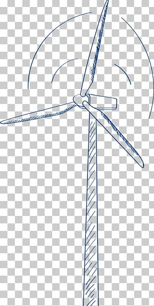 Energy Conservation Wind Turbine Wind Power Machine PNG